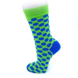 Fancy Socks - Blue Dots