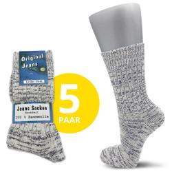 Damen Original Jeans Socken