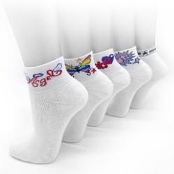 Damen Retro-Socken, Kurzschaft
